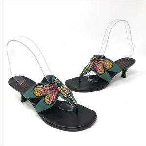 Donald J. Pliner Violeta Dragon Fly Sandals